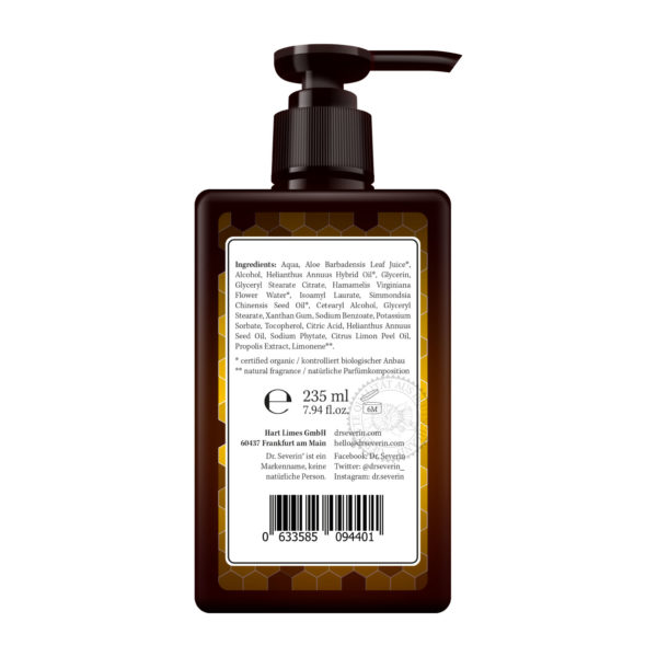 After Shave: Dr. Severin® Propolis After Shave Balsam