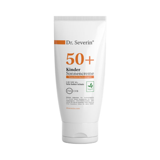 Kinder Sonnenschutz: Dr. Severin® Sonnencreme LSF 50+ sensitiv wasserfest Made in Germany